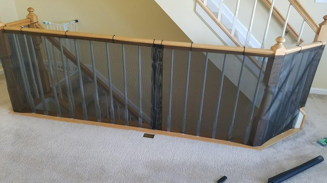 Diy Baby Proof Banister Railing