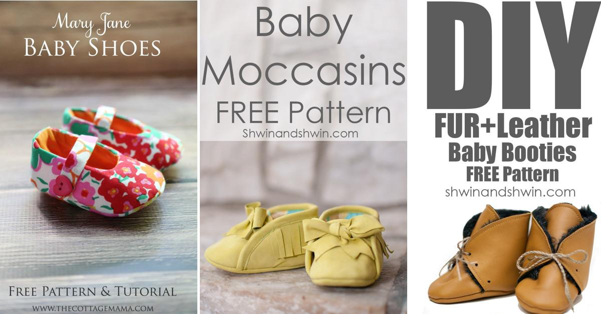 Diy Baby Shoes Ideas Patterns Instructions