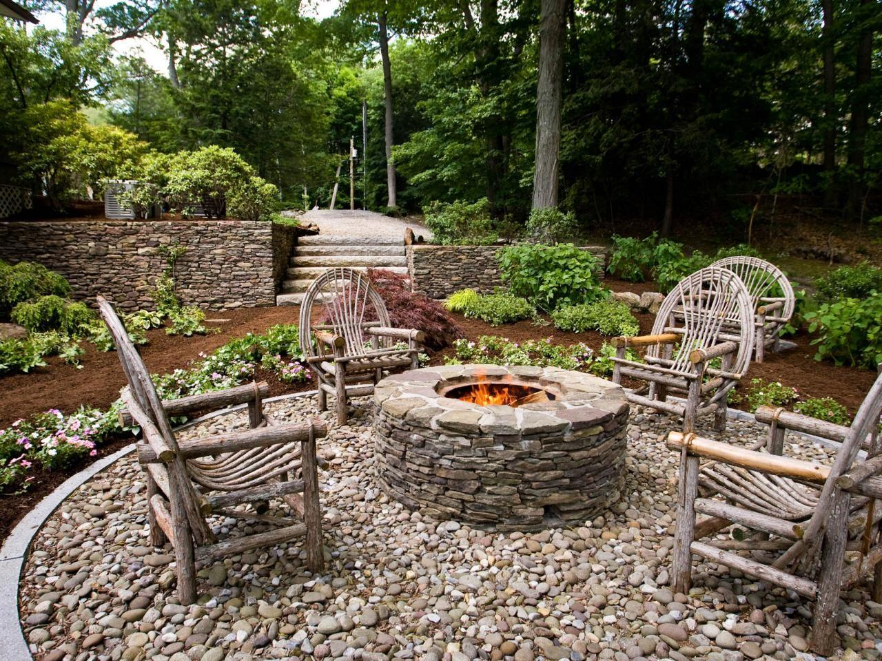 Diy Backyard Fire Pit Ideas All Accessories
