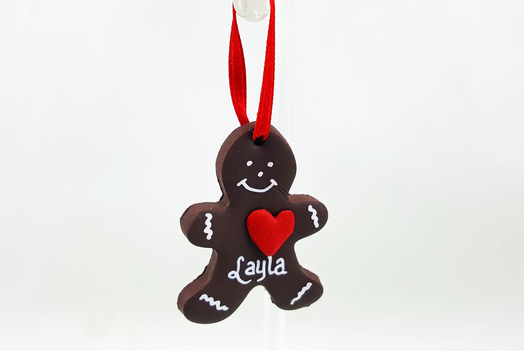 Diy Bake Your Own Clay Gingerbread Ornaments