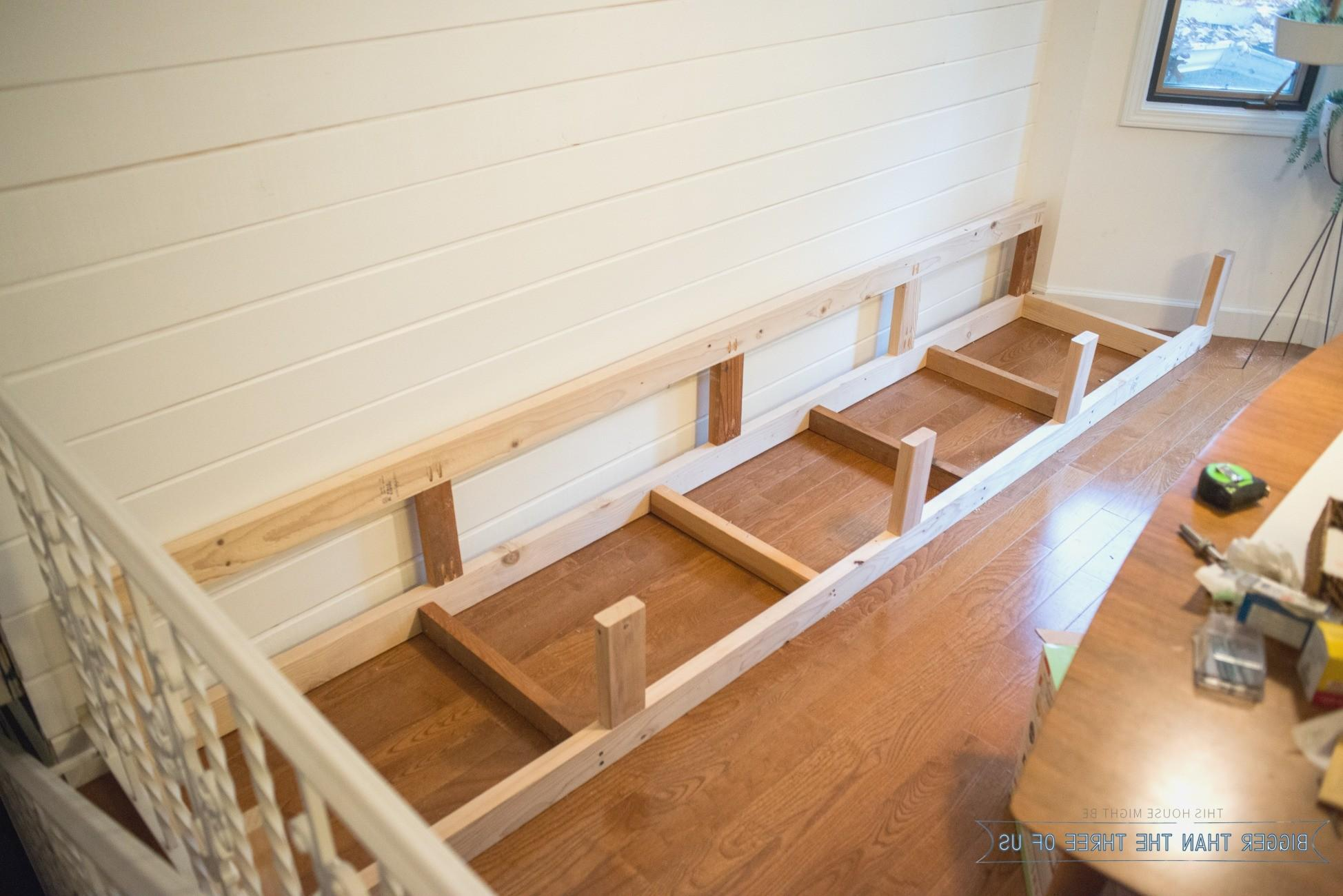 Diy Banquette Storage Bench