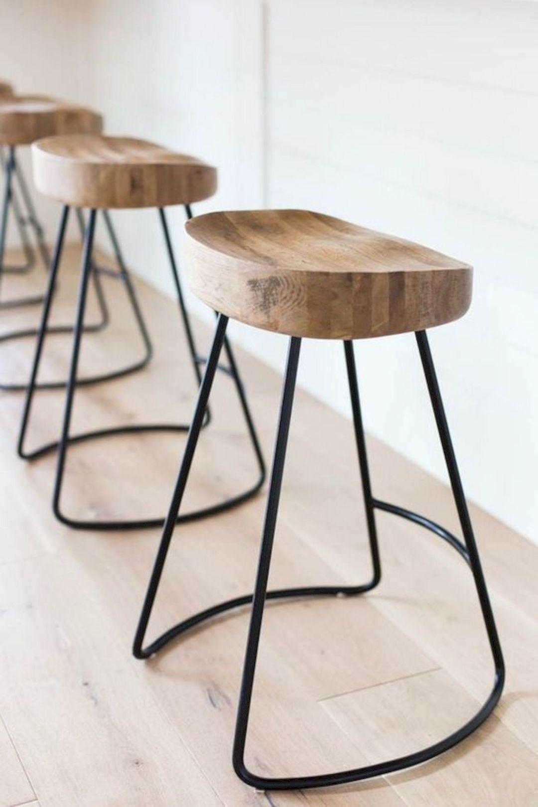 Diy Bar Stools Simple Wooden Stool Designs