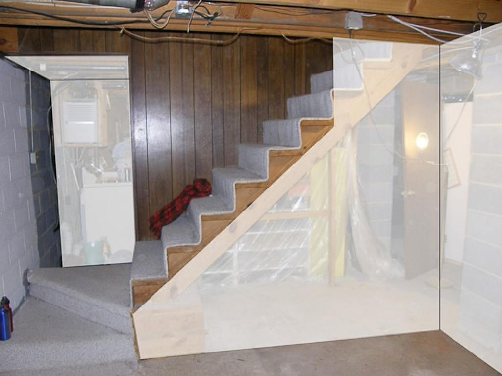 Diy Basement Remodel Stairs Ideas Small