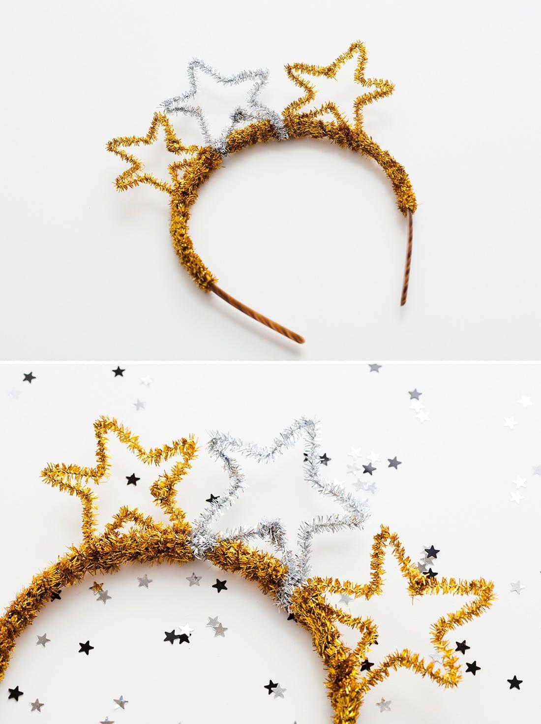 Diy Basics Pipe Cleaner Party Crowns New Year Eve