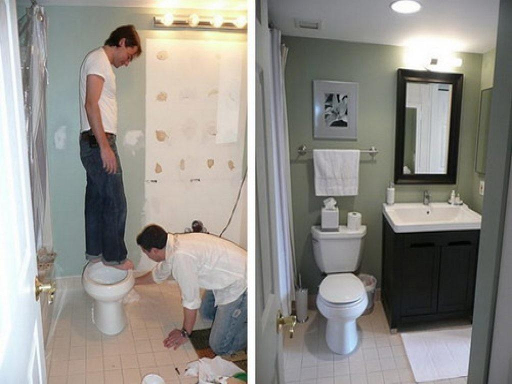 Diy Bathroom Remodel Shower Glomorous Renovation