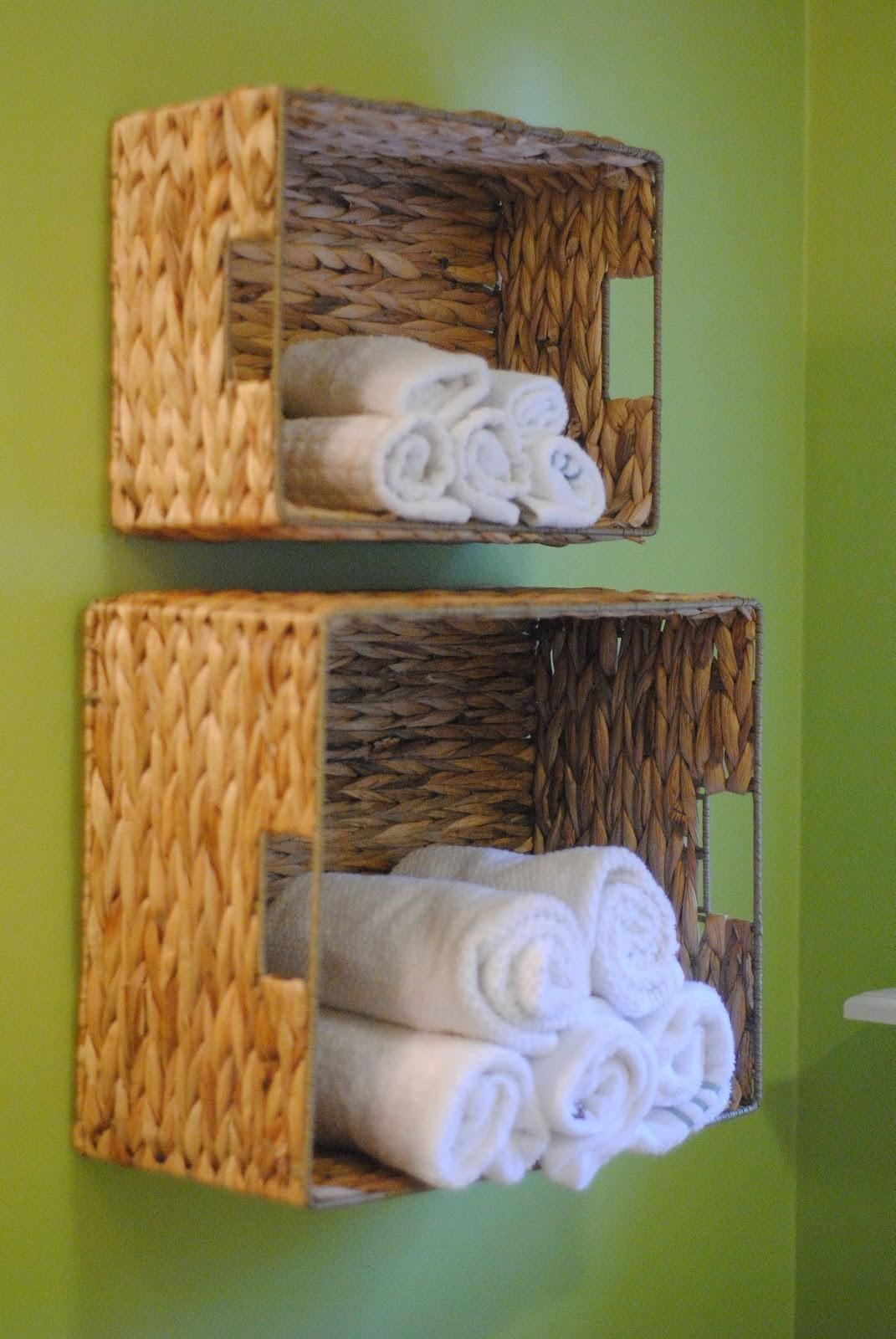 Diy Bathroom Towel Storage Under Minutes Making