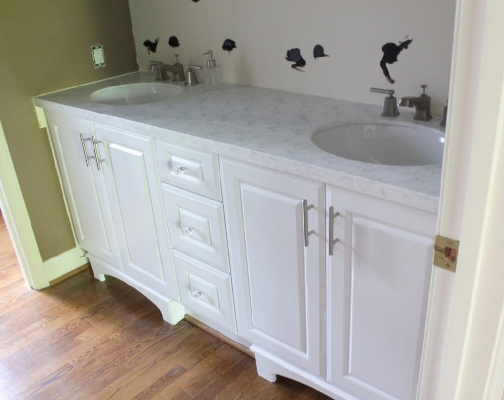 Diy Bathroom Vanity Cabinets Without Tops Home Design Ideas
