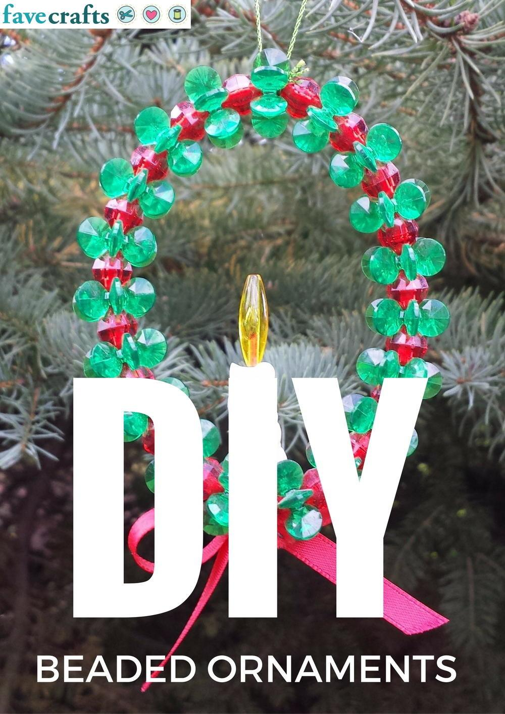 Diy Beaded Ornaments Favecrafts