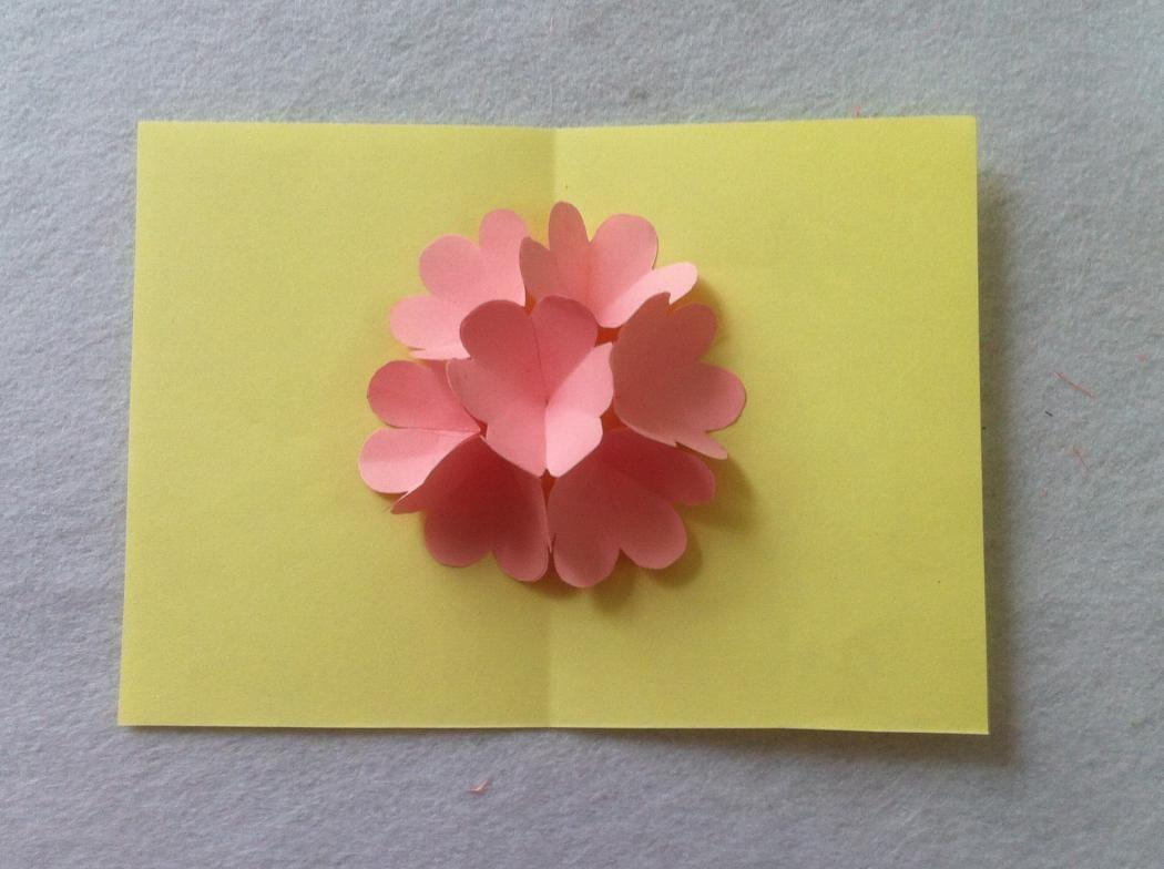 Diy Beautiful Pop Flower Card Mother Day