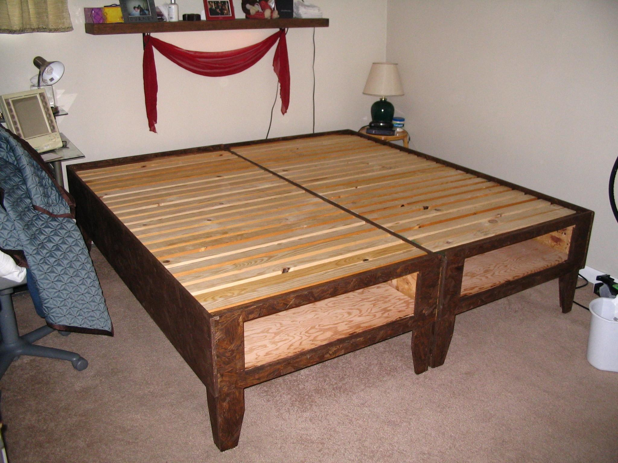 Diy Bed Storage Under 100