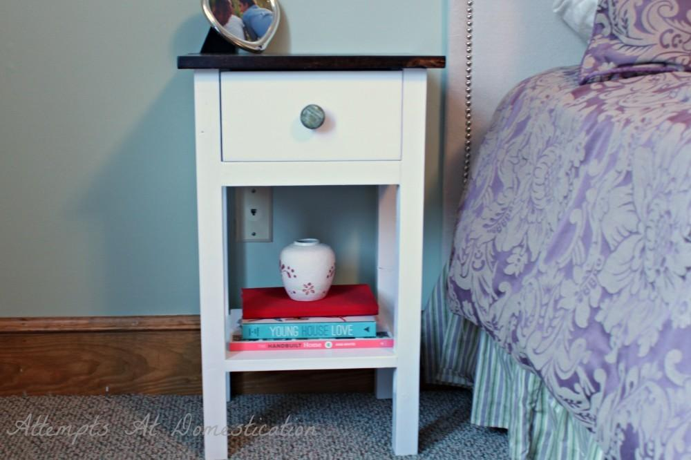 Diy Bedside Table Plans Woodguides