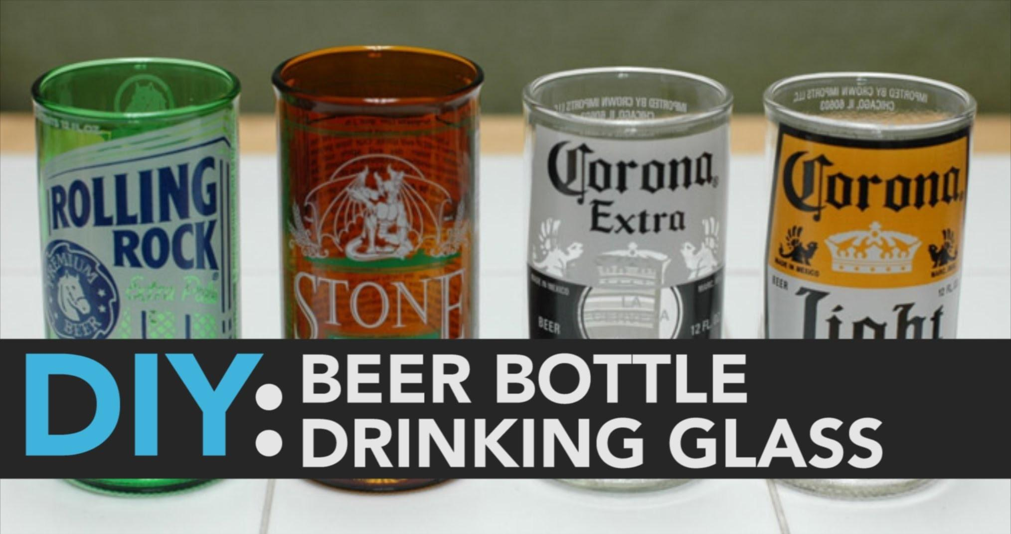 Diy Beer Bottle Drinking Glasses Meeting Place Business
