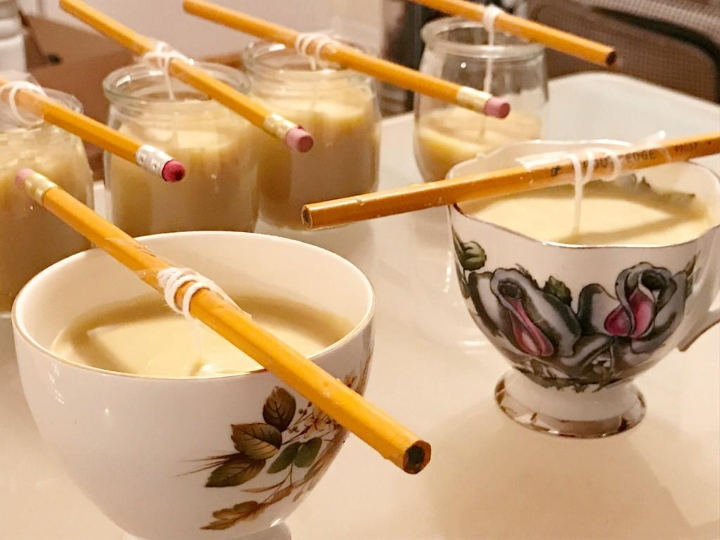 Diy Beeswax Candles Brittany Leah
