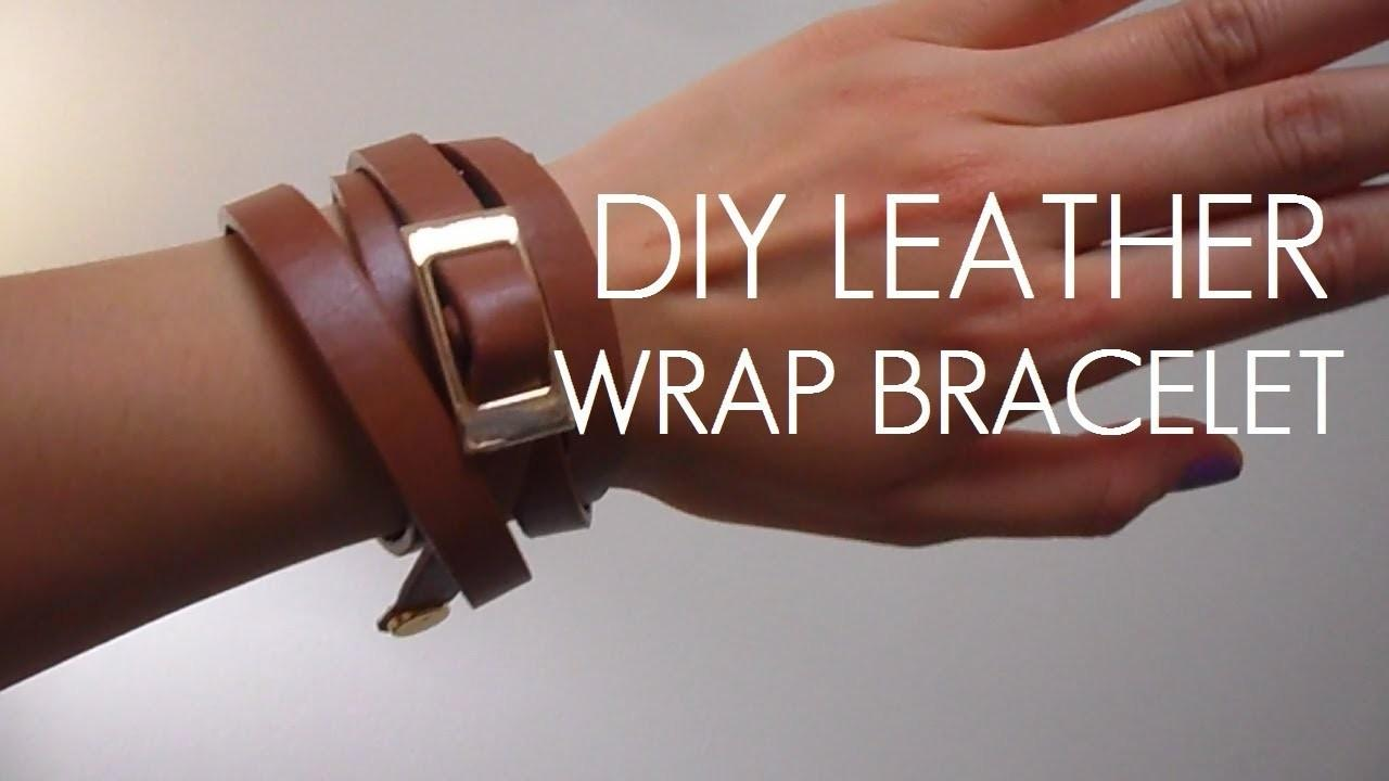 Diy Belt Leather Wrap Bracelet