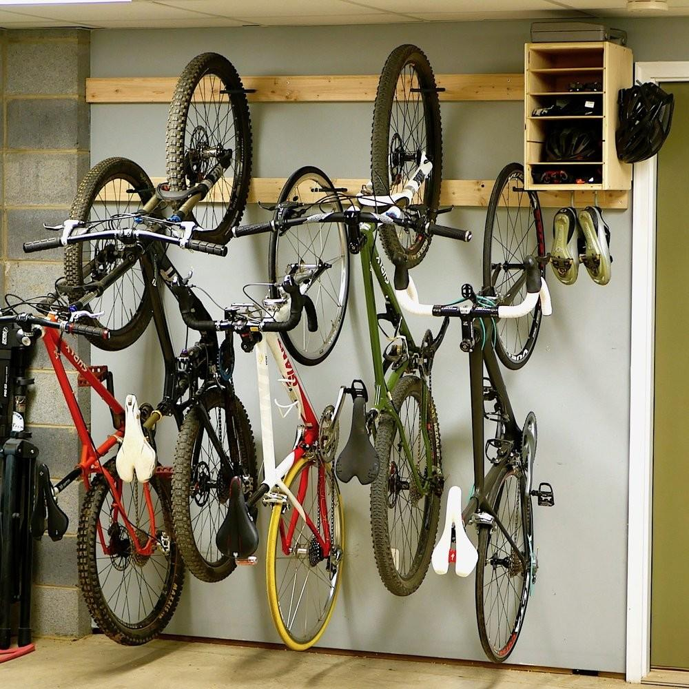 Diy Bike Rack Storage Stand Cabinet