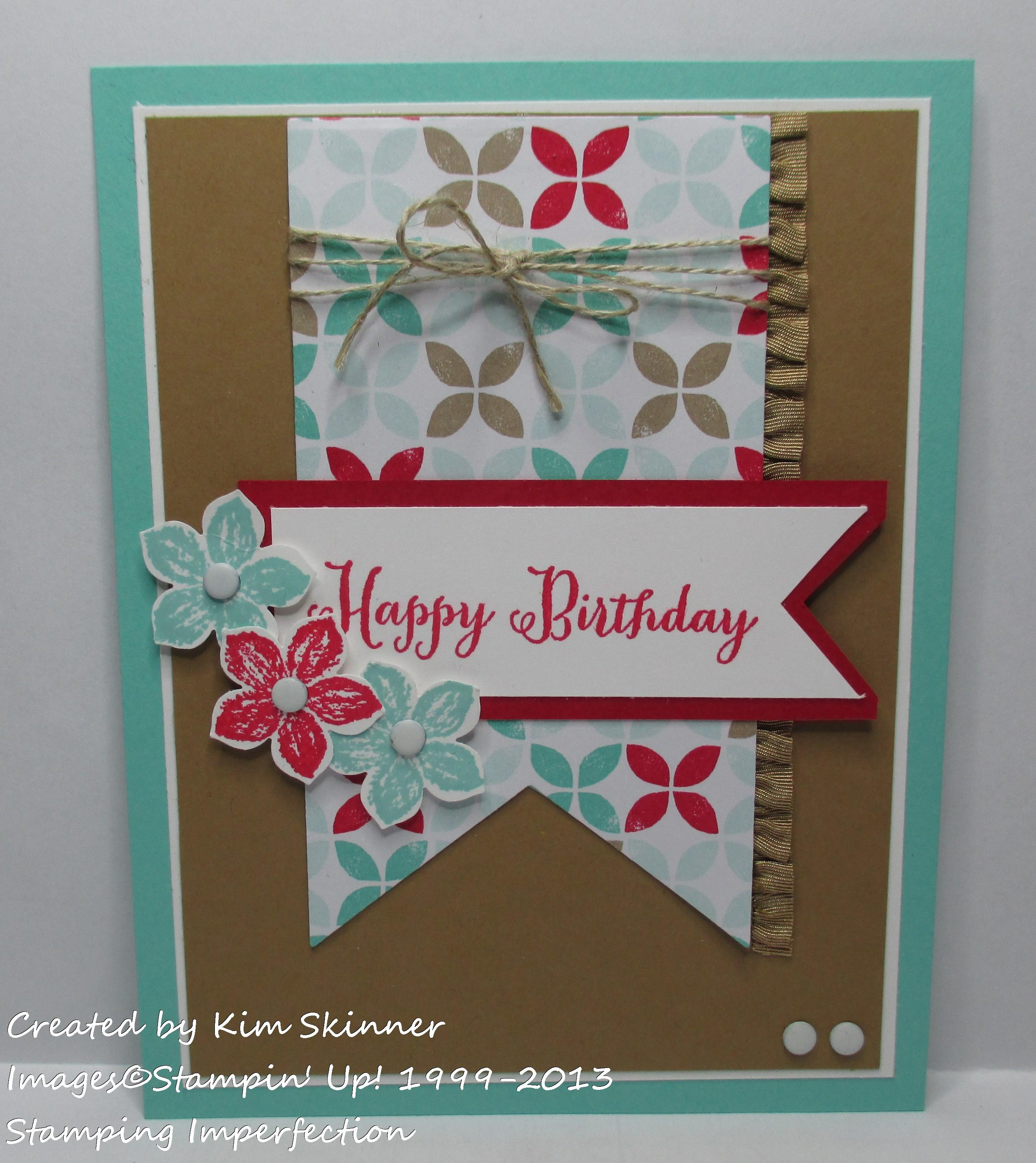 Diy Birthday Cards Latest Trends Stamping