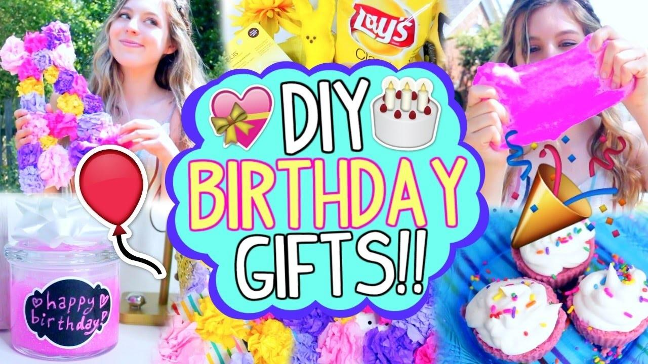 Diy Birthday Gifts Your Best Friend Easy Cheap
