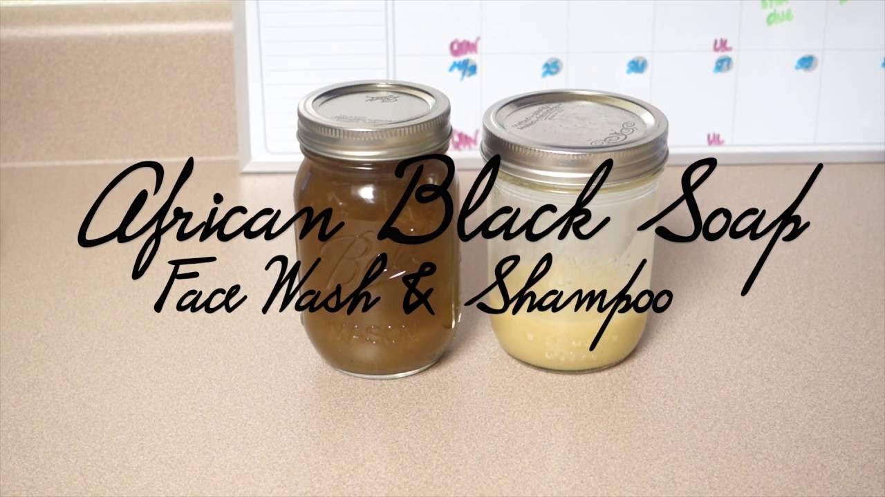 Diy Black Soap Face Wash Shampoo Name Meikosh
