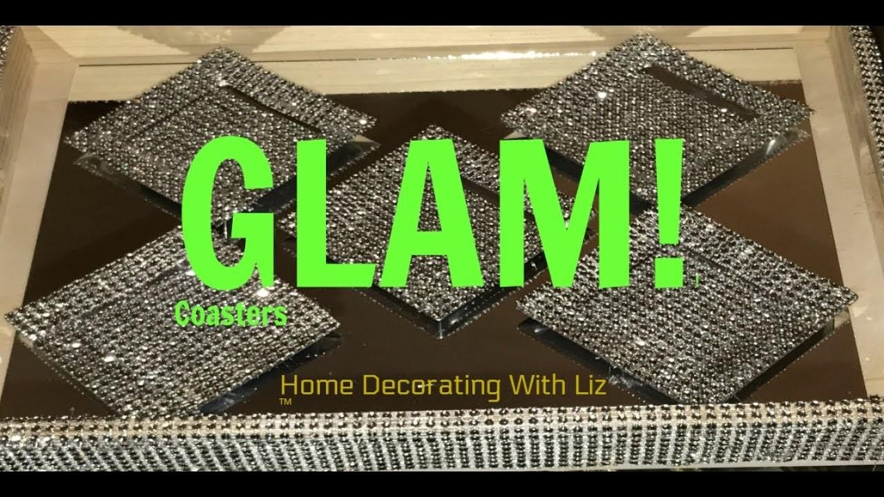 Diy Bling Glam Out Coasters