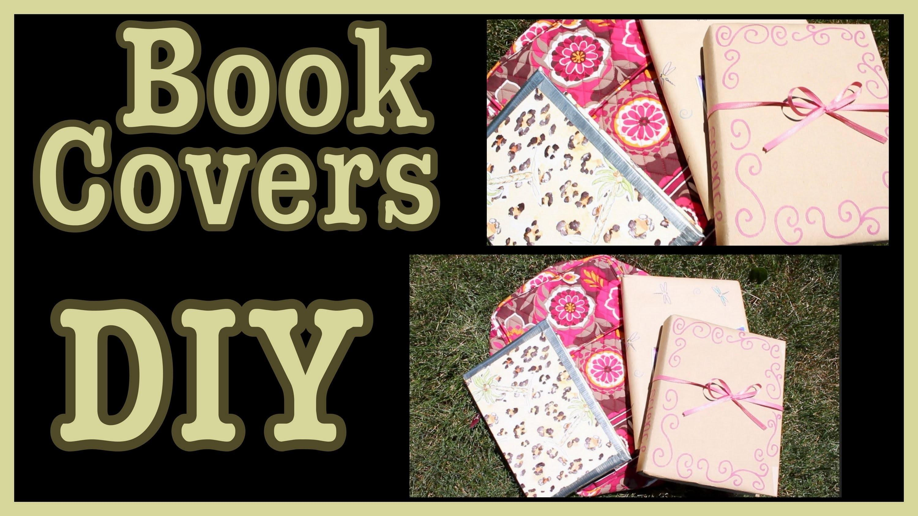 Diy Book Covers Ideas Decorate Them