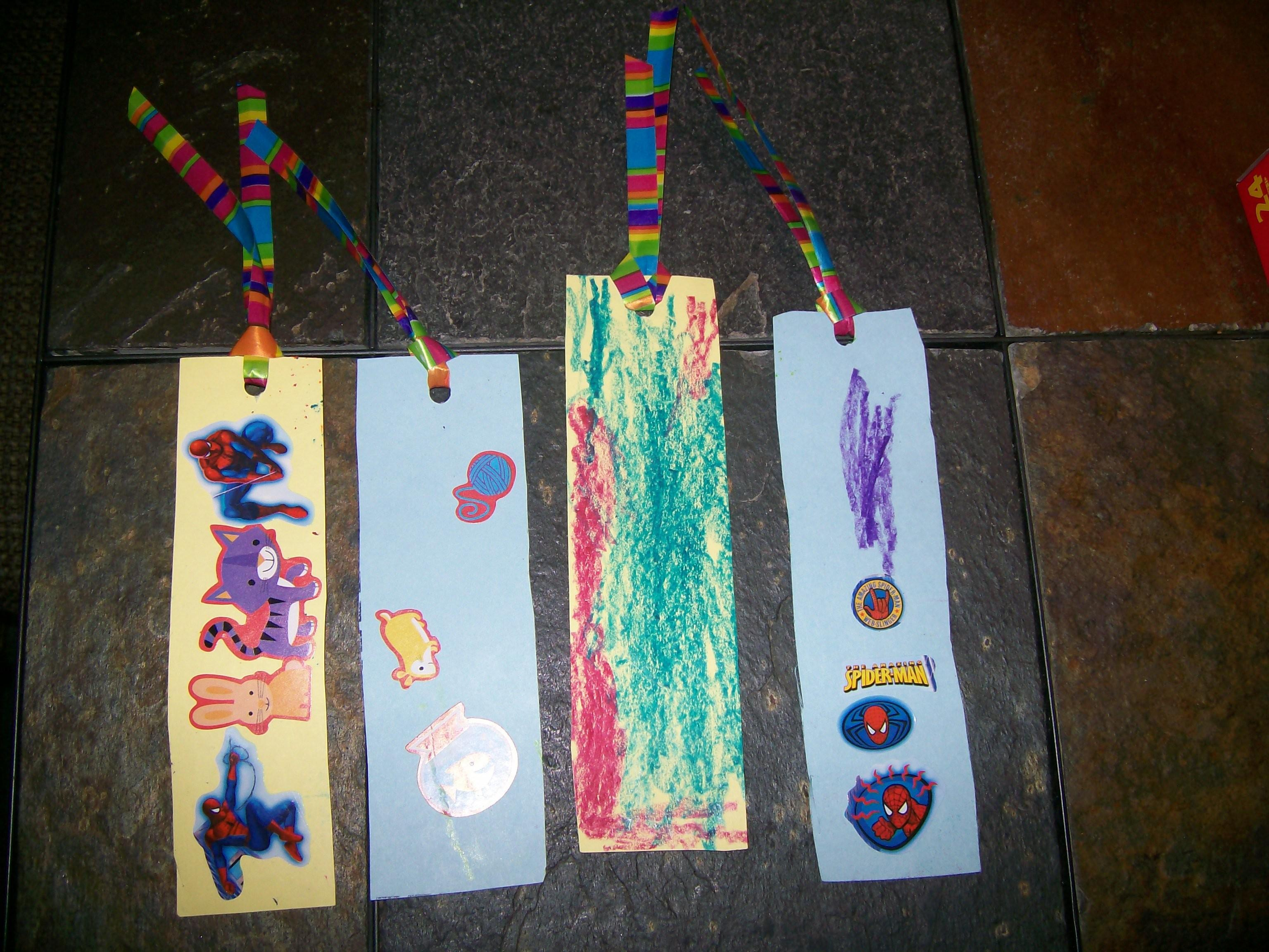 Diy Bookmark Project Perfect Father Day Summer Projects
