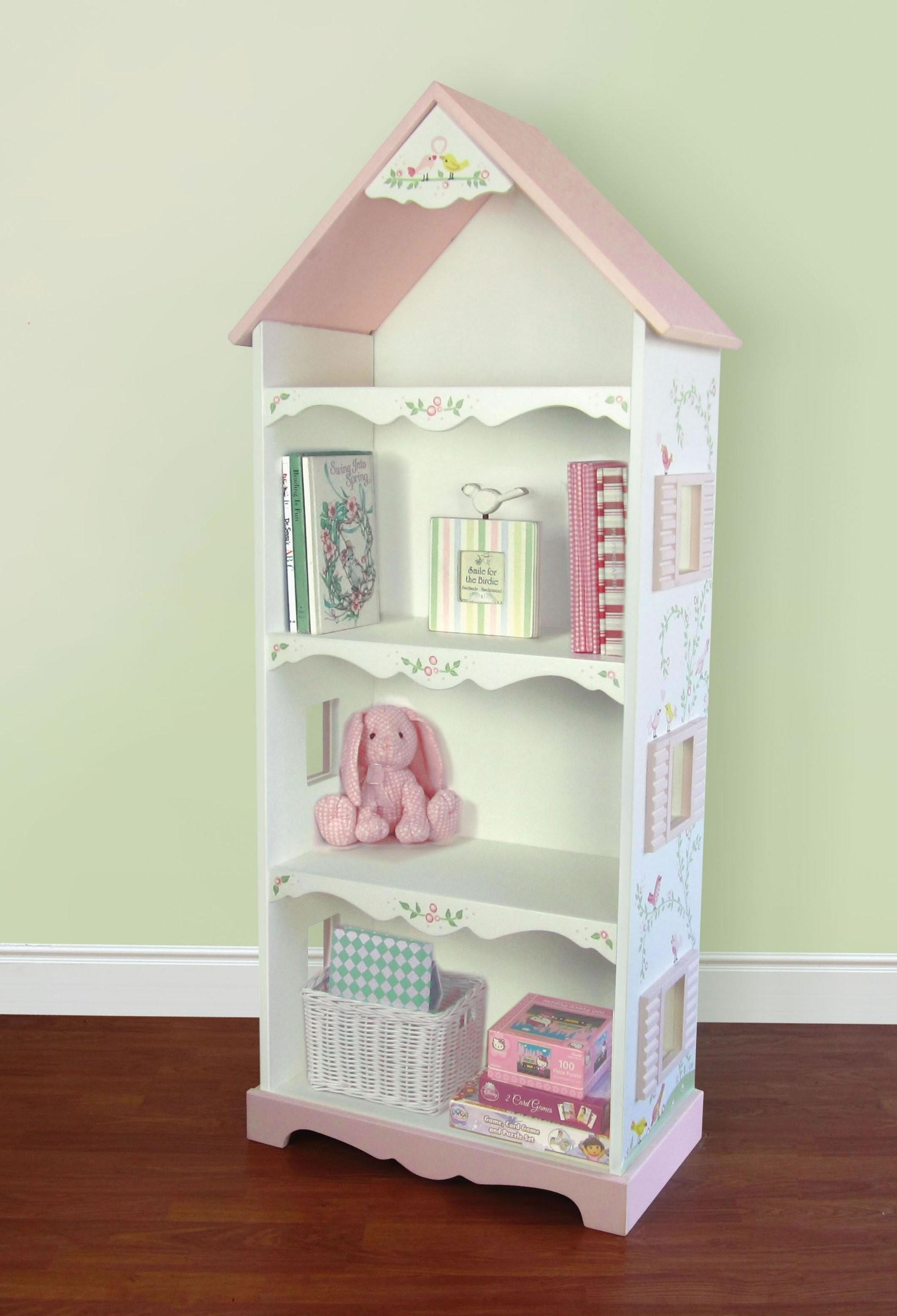 Diy Bookshelf Dollhouse Bookcase Plans