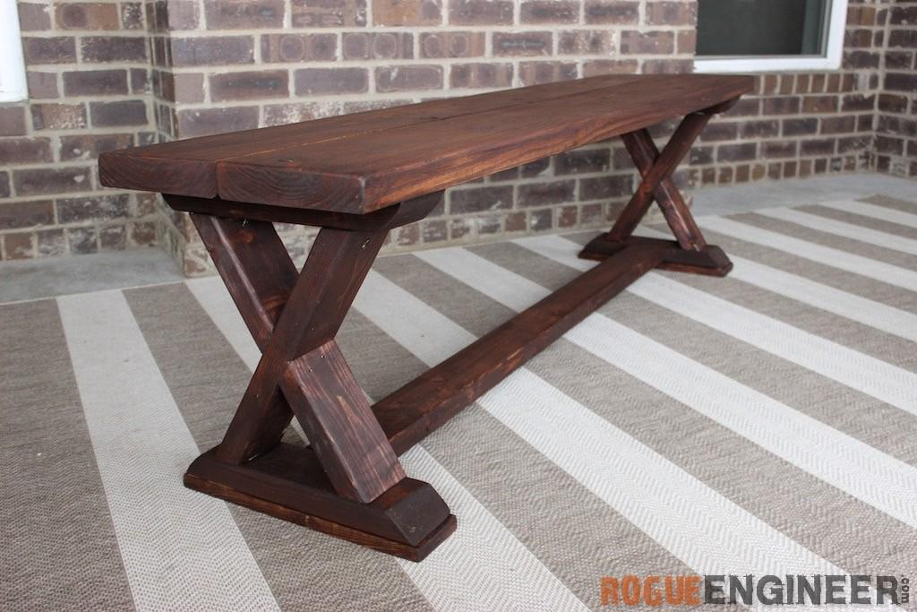 Diy Brace Bench Easy Plans Rogue Engineer