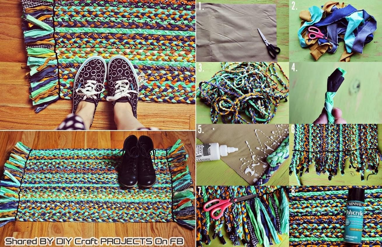 Diy Braided Rug Craft Projects