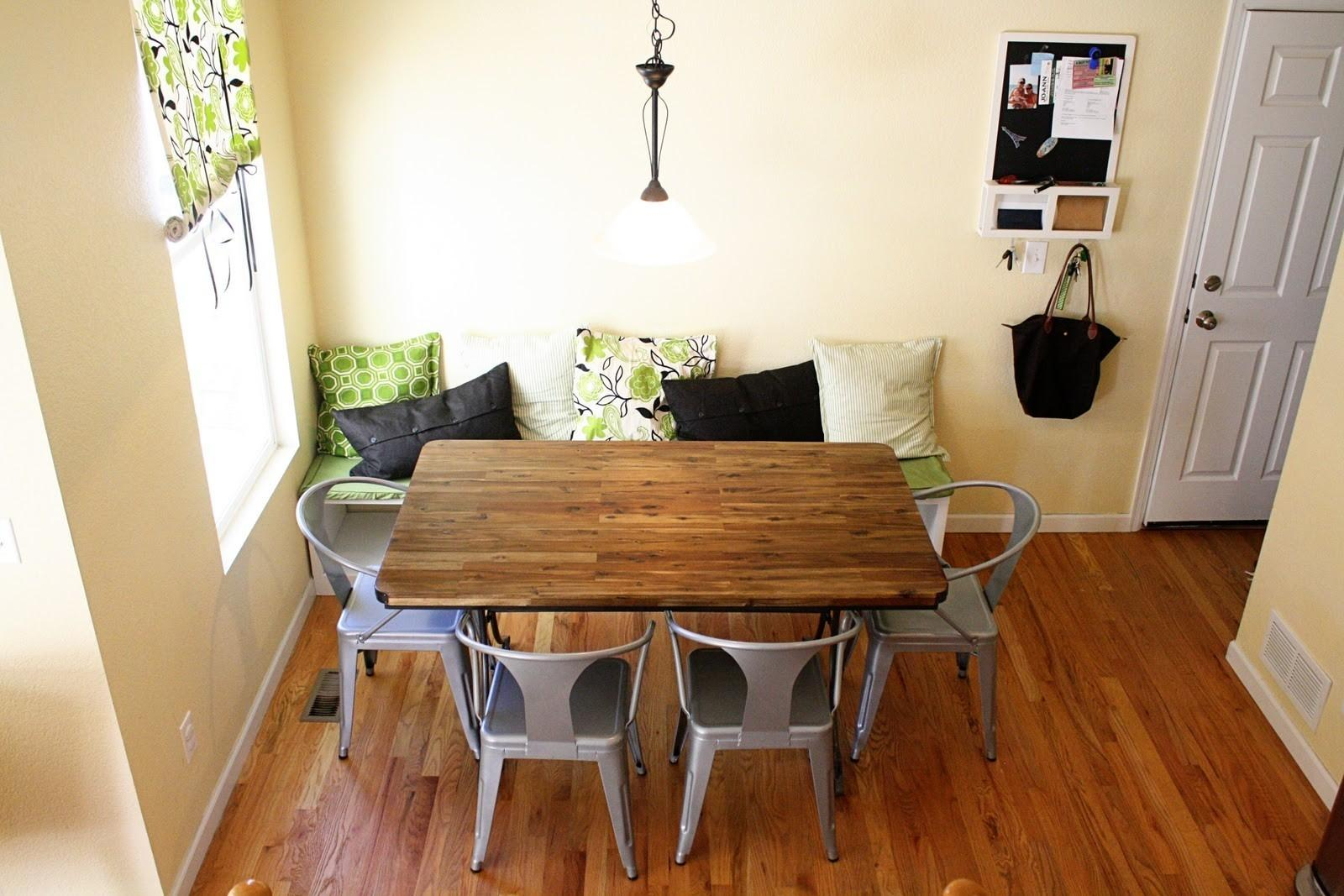 Diy Breakfast Nook Storage Victorian Medium Home