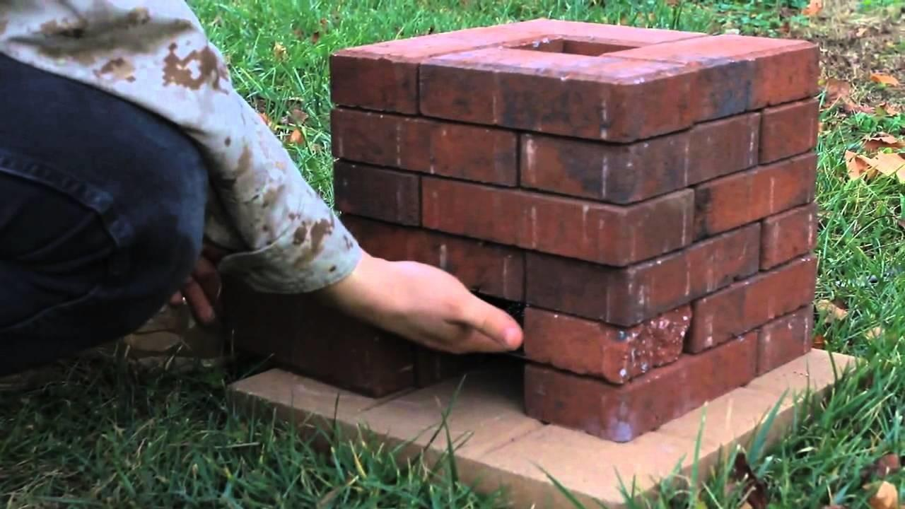 Diy Brick Rocket Stove Doovi