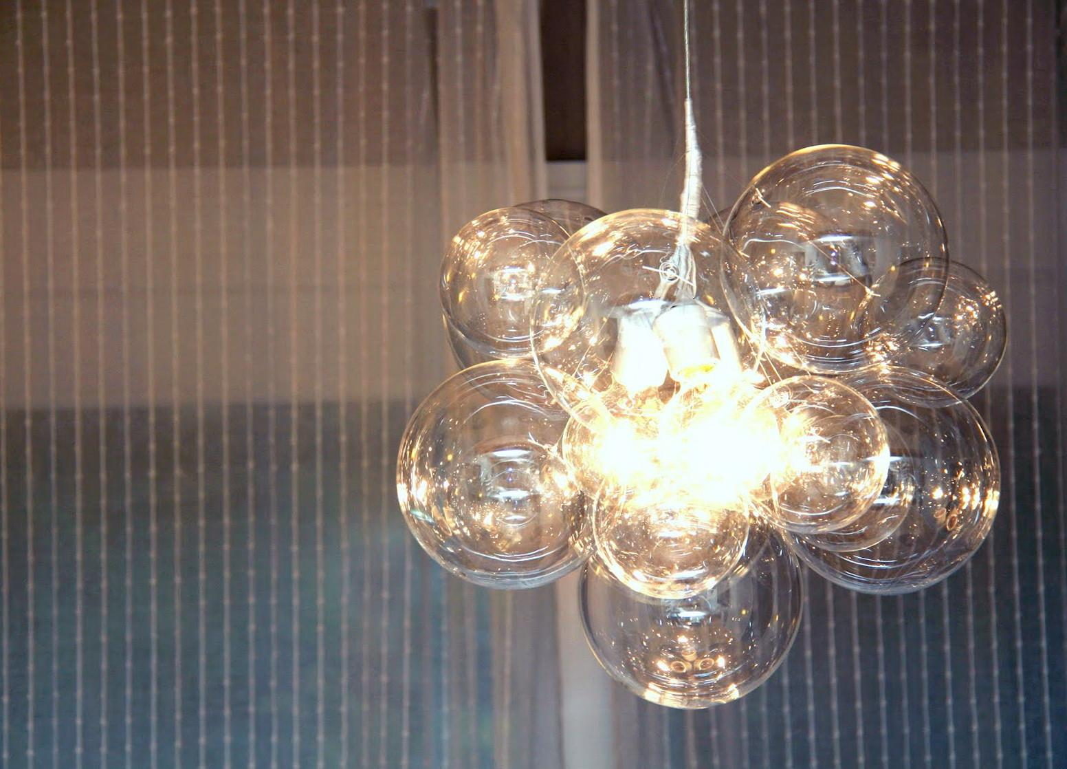 Diy Bubble Chandelier Tutorial Home Design Ideas