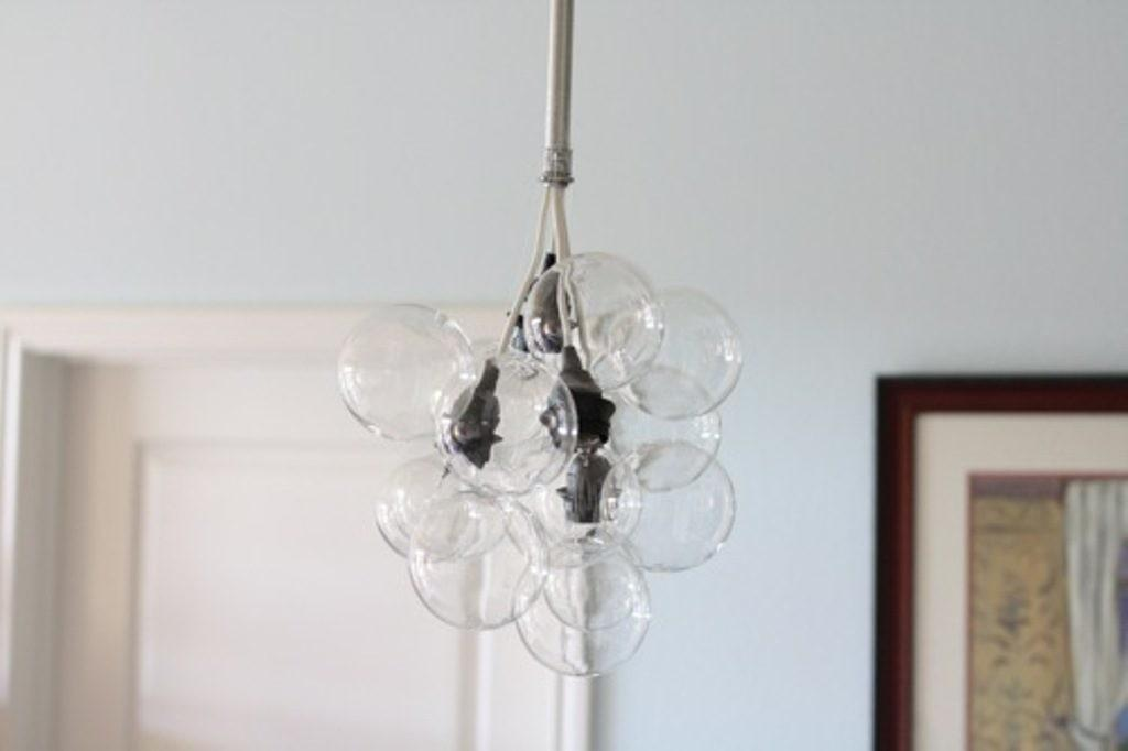 Diy Bubbles Chandeliers Step Tutorial