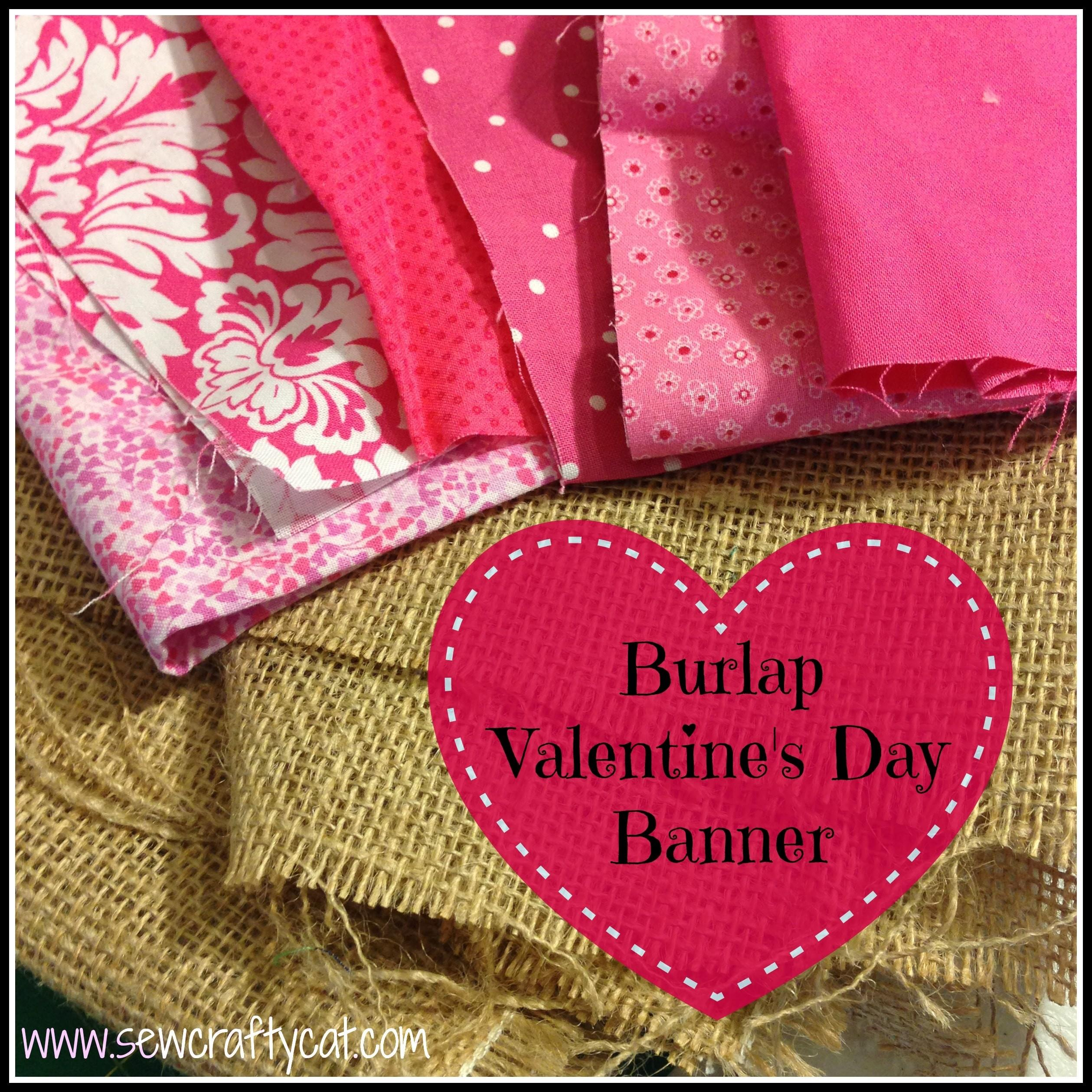 Diy Burlap Banner Typically Simple