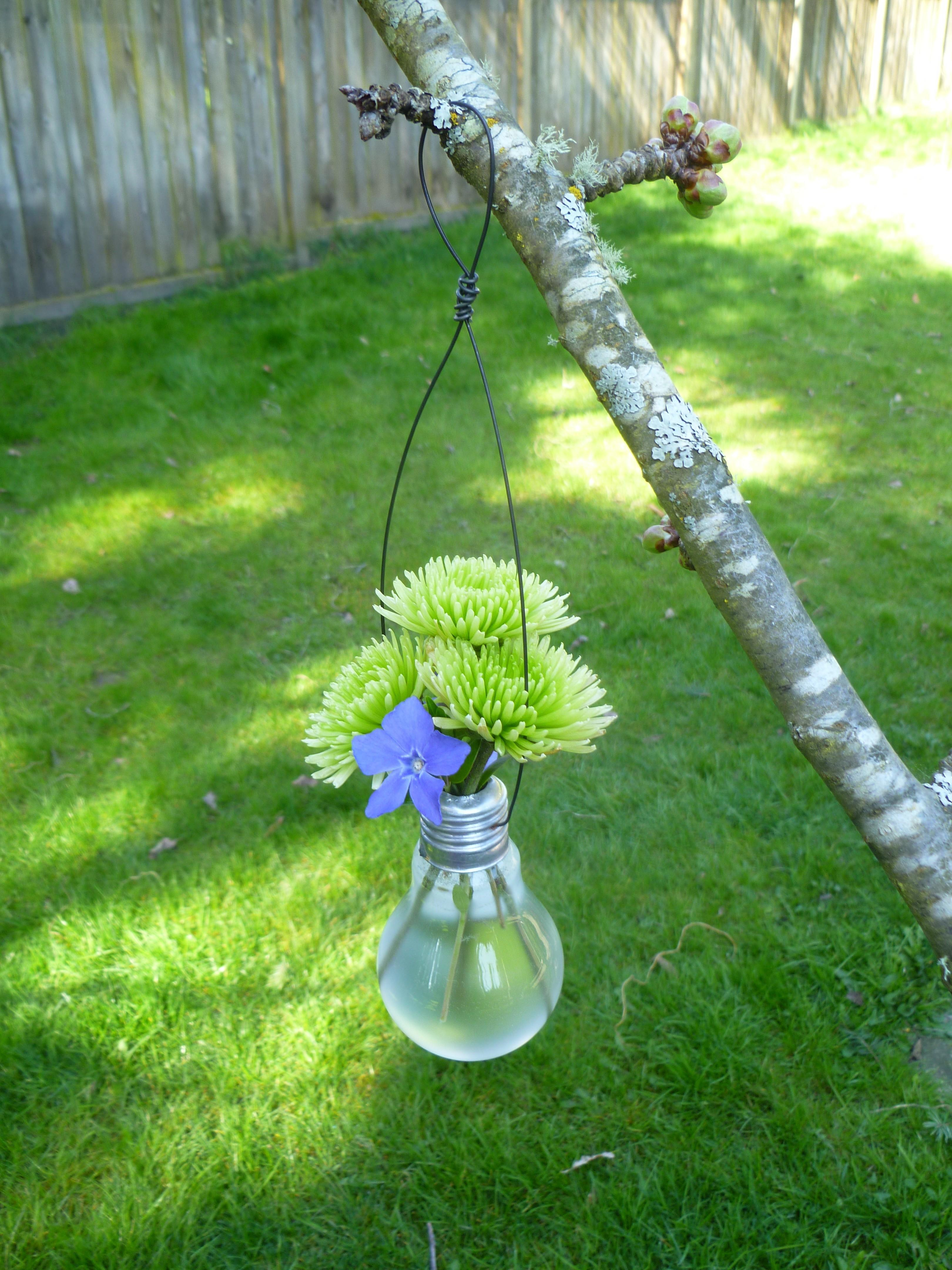 Diy Busters Incandescent Light Bulb Vase Worth