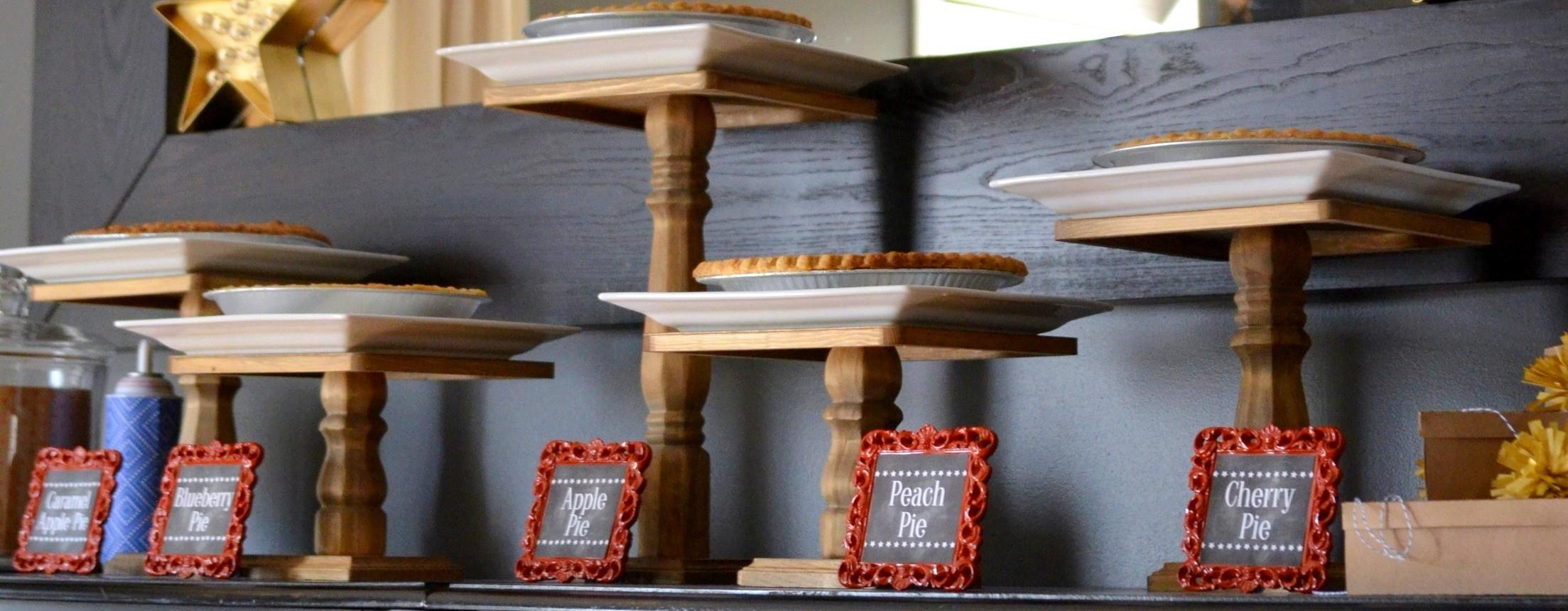 Diy Cake Plate Dessert Stand Make Your Own Wooden