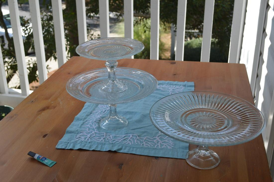 Diy Cake Stand Part Two Vive Pretty
