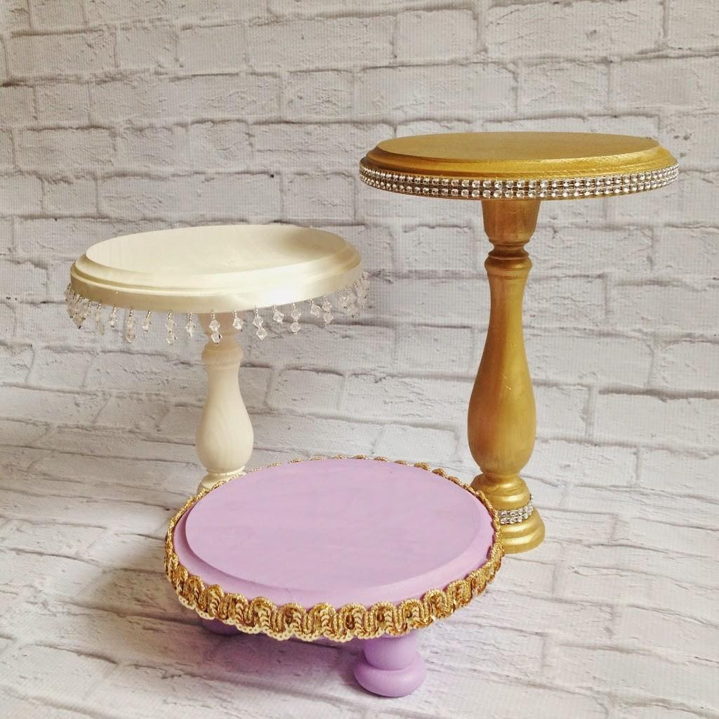 Diy Cake Stands Mommy Makes Things
