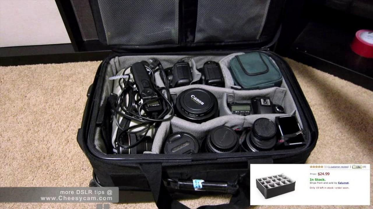 Diy Camera Rolling Equipment Case Vimeo