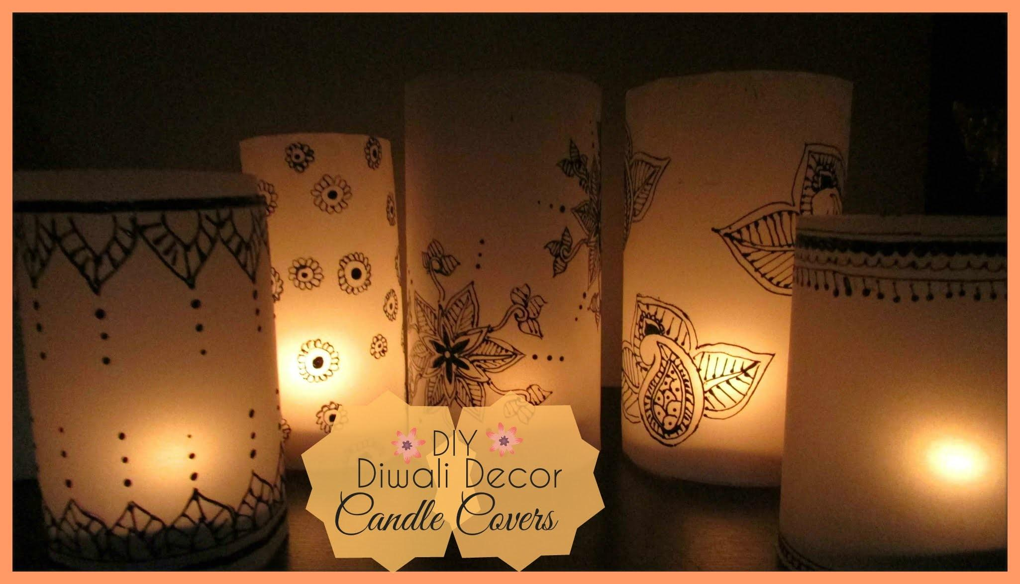 Diy Candle Covers