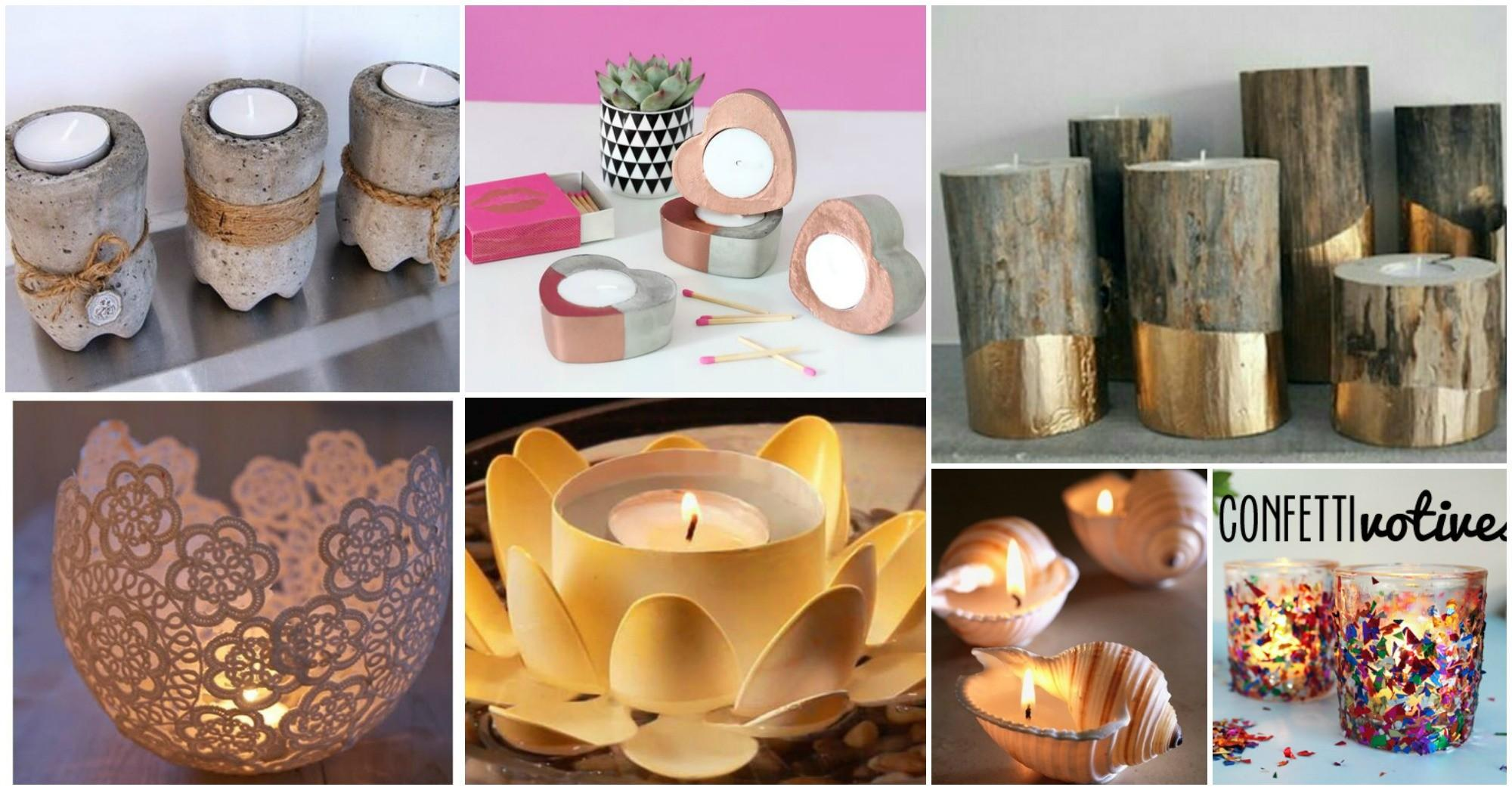 Diy Candle Holders Can Easily Make