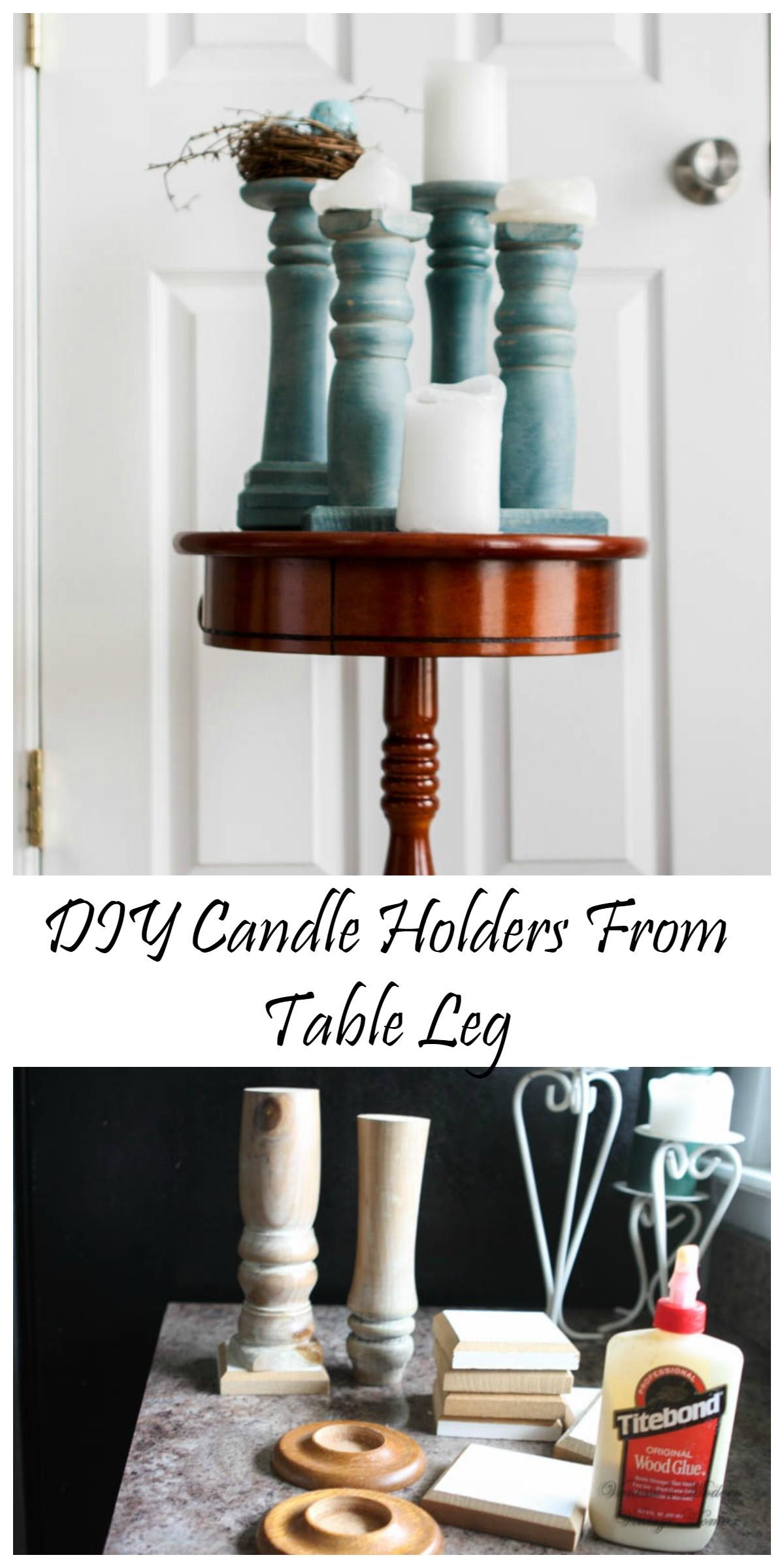 Diy Candle Holders Feature