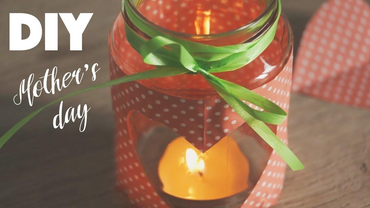 Diy Candleholder Mothers Day Crafts Projects