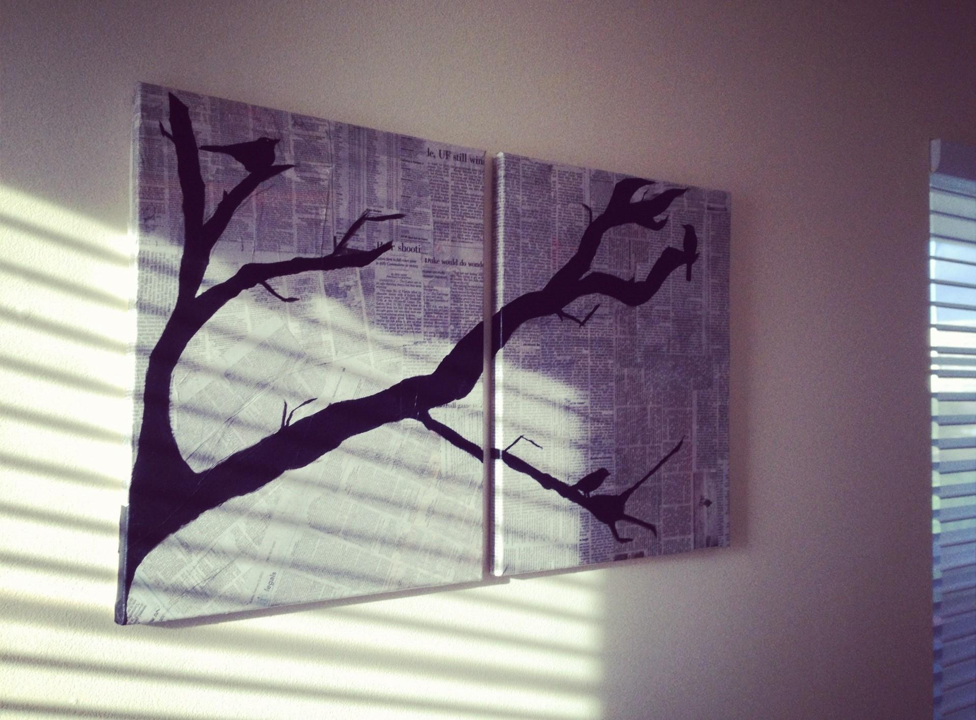 Diy Canvas Art Bare Bones
