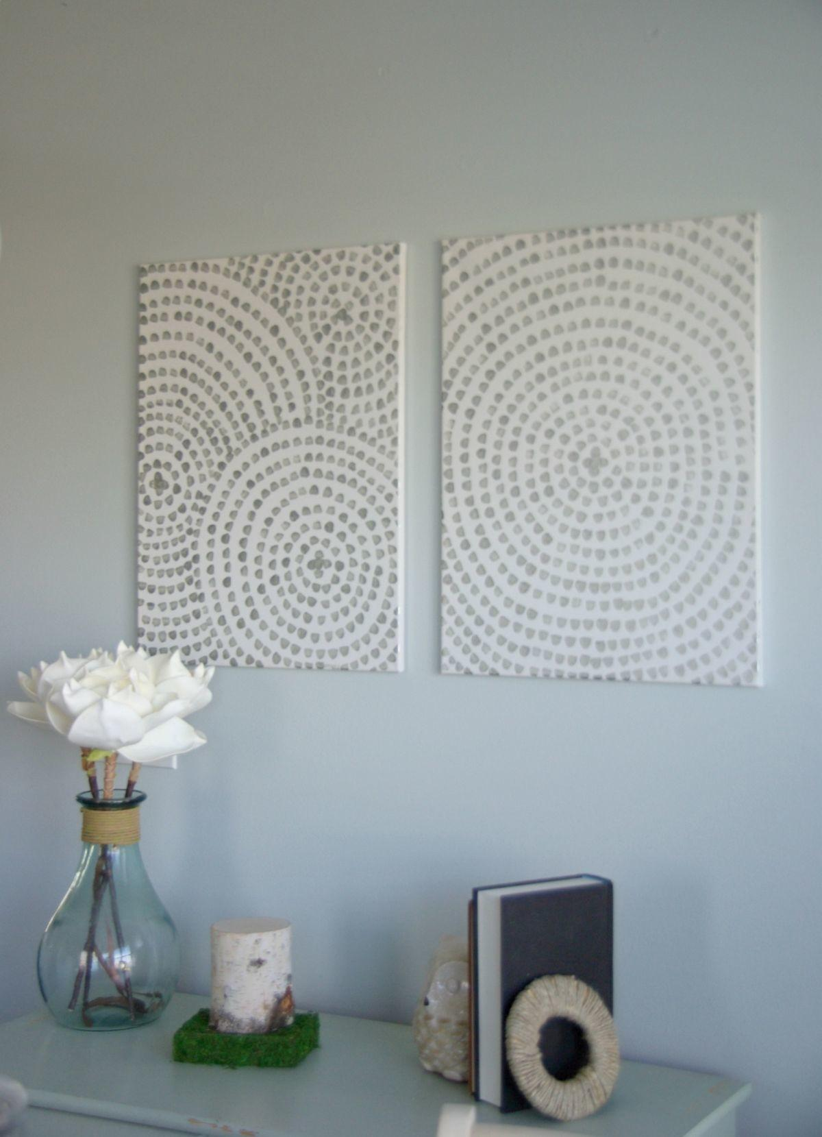 Diy Canvas Wall Art Low Cost Way Add Your Home