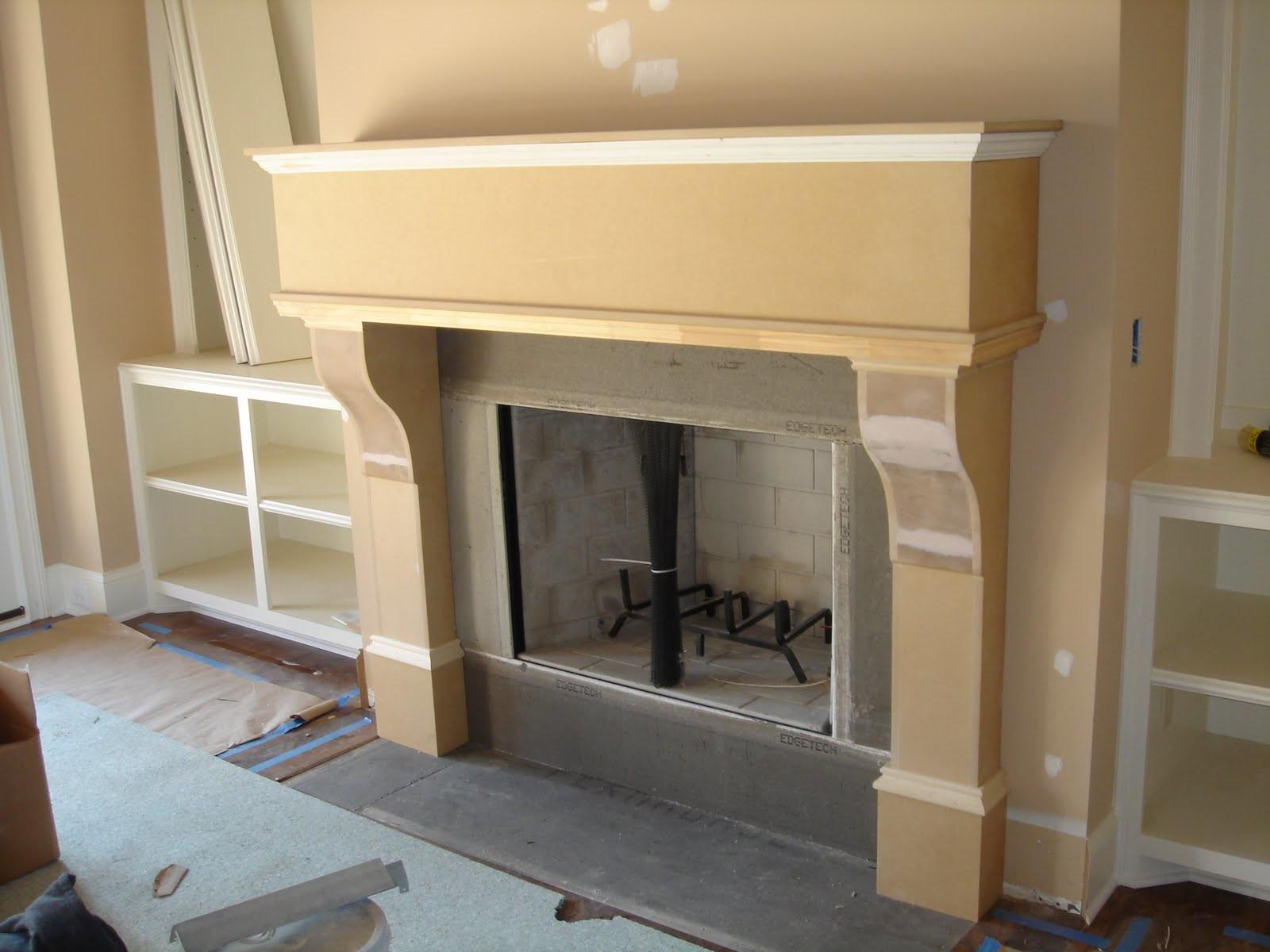 Diy Cardboard Fireplace Mantel Fireplaces