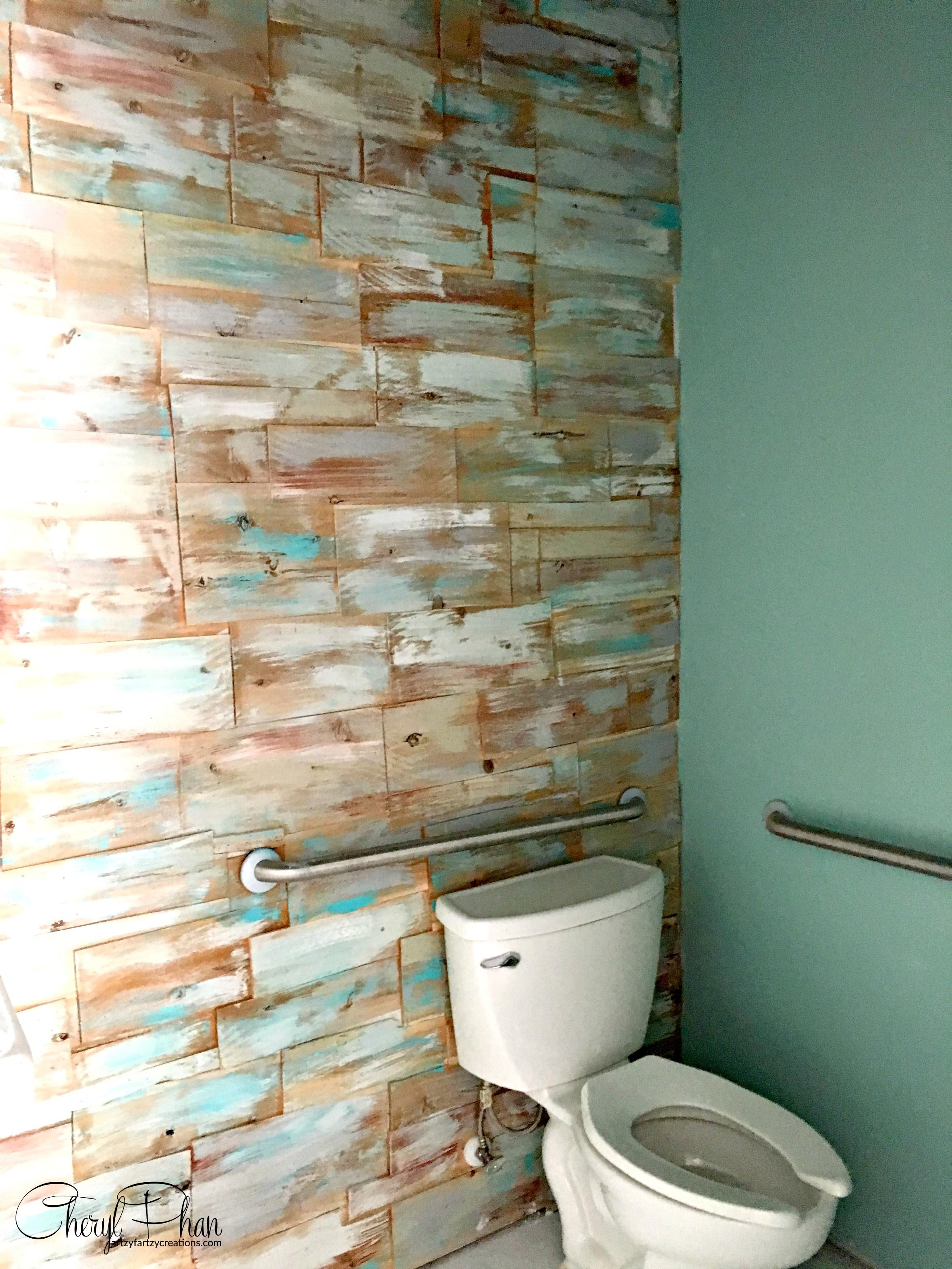Diy Cedar Wall Wood Plank Accent Cheryl Phan