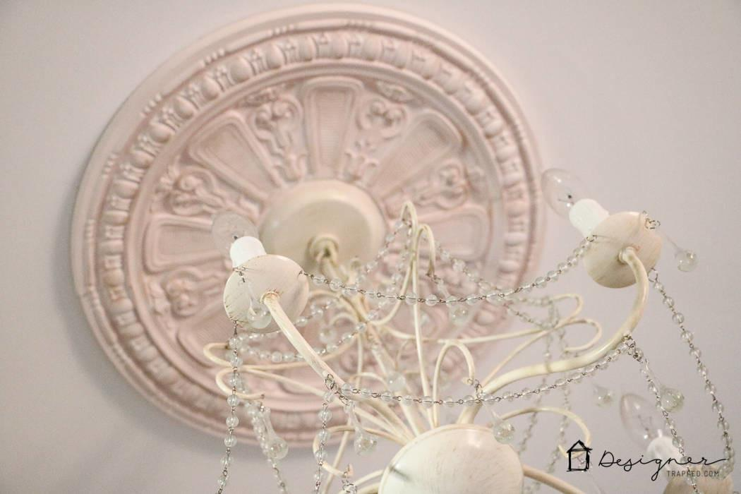 Diy Ceiling Medallion Hide Flaw