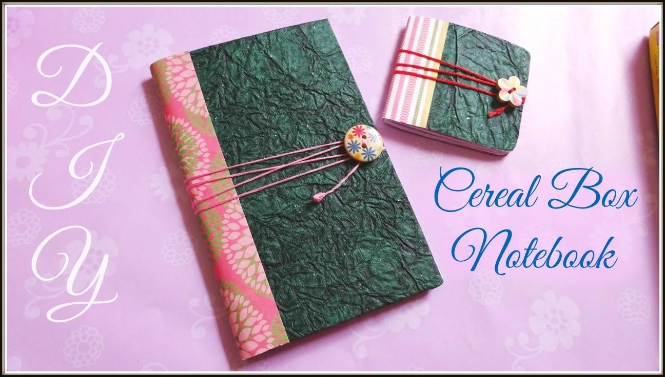 Diy Cereal Box Notebook