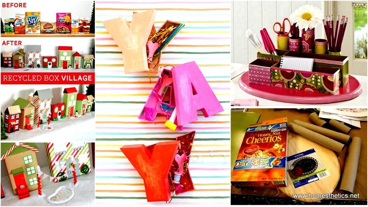 Diy Cereal Box Projects Can Start Anytime