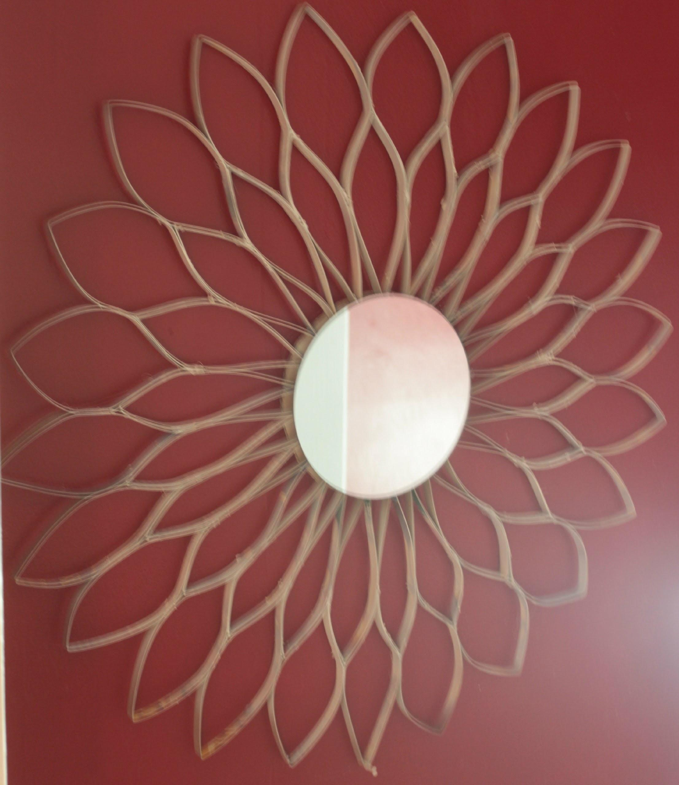 Diy Cereal Box Sunflower Wall Art